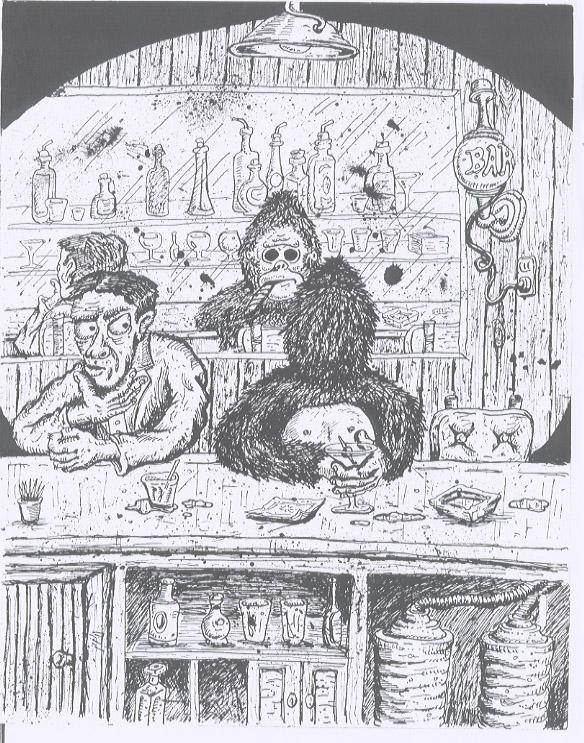 Paul Proch's illustration for FESTIVAL OF ROMANCE
